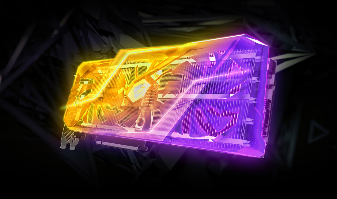 Gigabyte Aorus Geforce Rtx 2080 Xtreme 8g Graphics Card 3 X Stacked