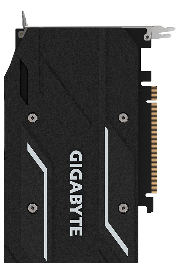 Back of the GIGABYTE RTX 2060 Graphics Card