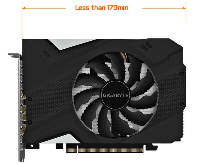 6GB 192-bit GDDR5 Gv-N1660IXOC-6GD Video Card Gigabyte GeForce GTX 1660 Mini ITX OC 6G Graphics Card
