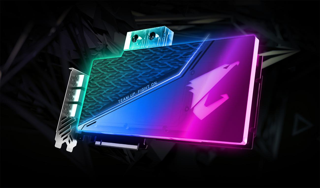 GIGABYTE AORUS GeForce® RTX 2080 SUPER™ WATERFORCE WB 8G Graphics Card
