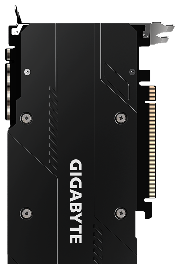 The back of GeForce® RTX 2070 SUPER™ GAMING OC 3X 8G Graphics Card