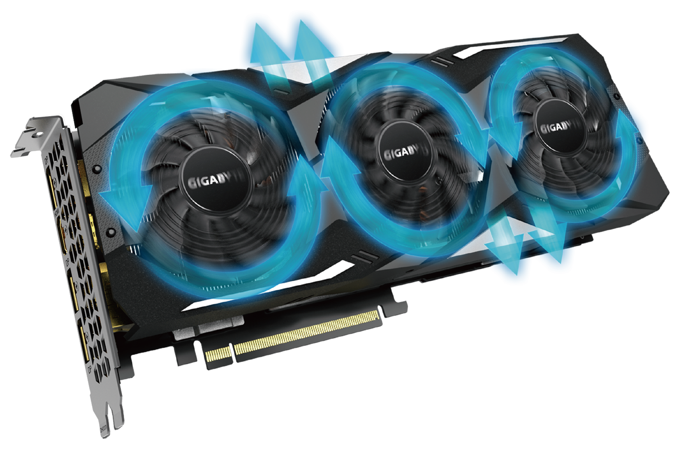 GeForce® RTX 2070 SUPER™ WINDFORCE OC 3X 8G with the alluminum radiator