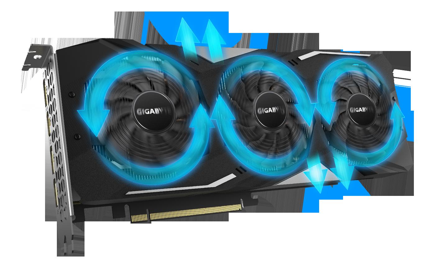 GeForce® GTX 1660 SUPER™ GAMING OC 6G with the aluminum radiator