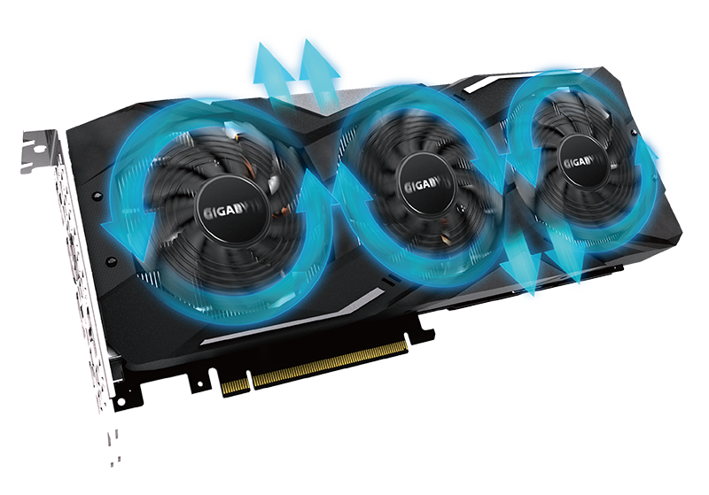 GeForce® RTX 2060 SUPER™ WINDFORCE OC 8G with the alluminum radiator