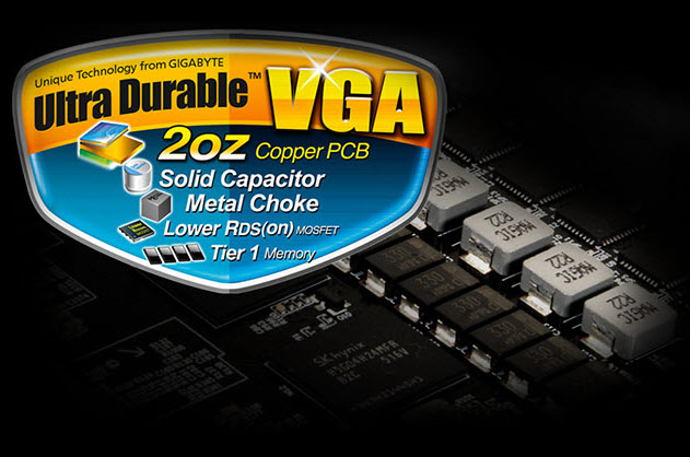 power chokes with a Ultra Durable VGA badge