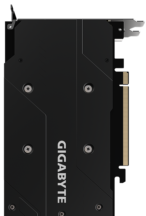 The back of  Graphics Card