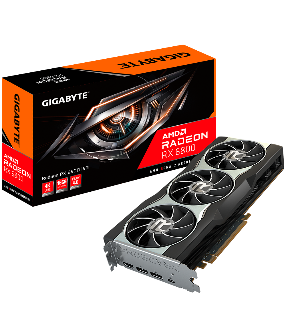 GIGABYTE Video Card-GV-R68GAMING OC-16GD