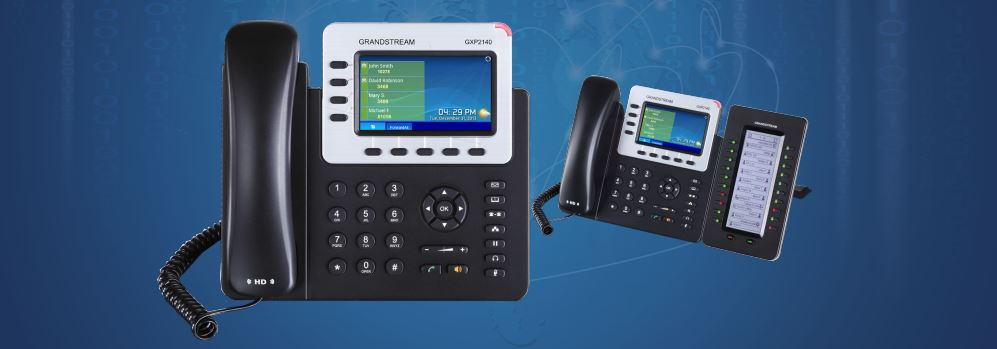 Grandstream GS-GXP2140 Enterprise IP Telephone - Newegg com