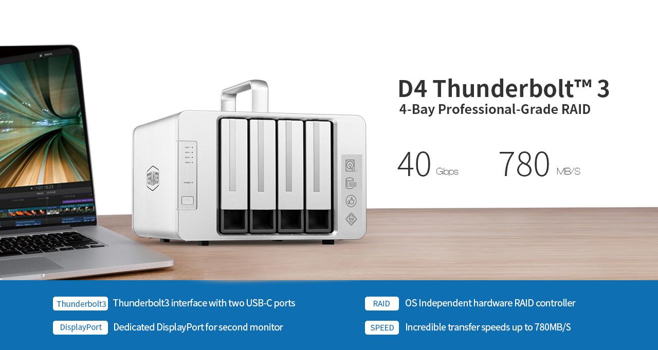 TerraMaster D4 Thunderbolt3