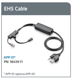 Plantronics 38439 11 Ehs Cable App 51 Polycom Newegg Ca