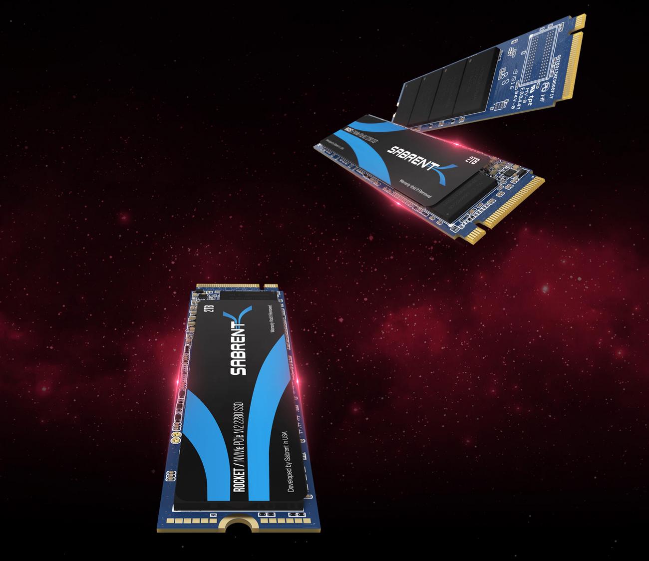 SB-ROCKET-1TB Sabrent 1TB Rocket NVMe PCIe M.2 2280 Internal SSD High Performance Solid State Drive