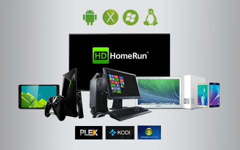 SiliconDust HDHR4-2US HDHomeRun CONNECT 2-Tuner Streaming Media Player for  Cord Cutters - Newegg com