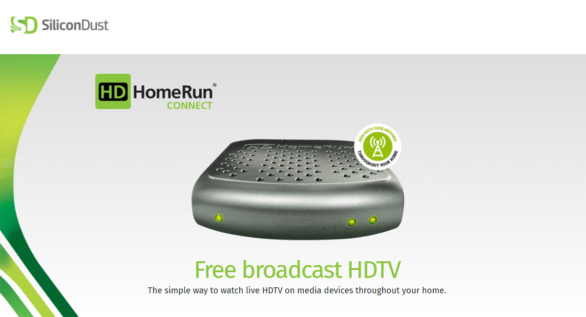 SiliconDust HDHR-4-2US(CA) HDHomeRun Connect - Free to Air TV (ATSC) /  MPEG2 Stream - Newegg ca