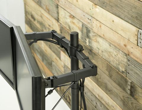 Vivo Dual Monitor Desk Mount Stand V002