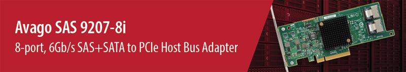 LSI LSI00301 (9207-8i) PCI-Express 3 0 x8 SATA / SAS Host Controller Card -  Newegg ca