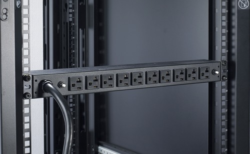 APC Rack Mount PDU, Basic 100V-120V/30A, (10) Outlets, 1U Horizontal  Rackmount (AP9560) - Newegg.com