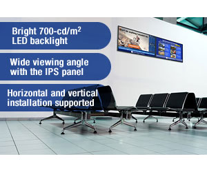 anasonic Full HD Professional IPS LED Commercial Display