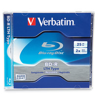 BD-R LTH Type 25GB 2X 1pk Jewel Case