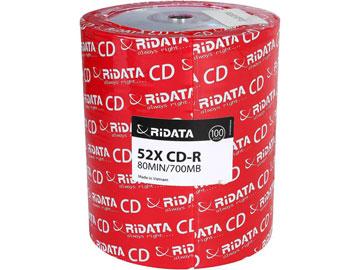 RiDATA 700MB 52X CD-R 100