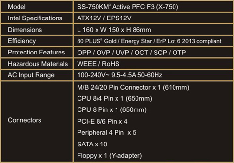 Product Information about X-750