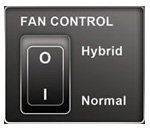 Seasonic Patented Hybrid Silent Fan Control