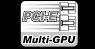 PCIE Multi-GPU graphic and text