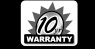 10-year warranty badge