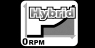 Hybrid zero RPM graph and text