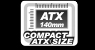 ATX 140mm Compact ATX Size text and graphic