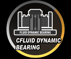 FLUID DYNAMIC BEARING graphic and text