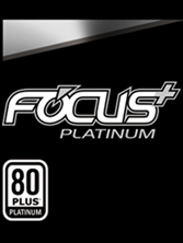 Focus+ Platinumtext and 80 Plus Platinum Badge