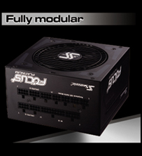 Fully modular Focus Platinum Power Supply