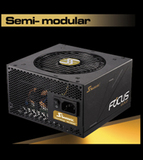 Semi-modular Focus Gold Power Supply