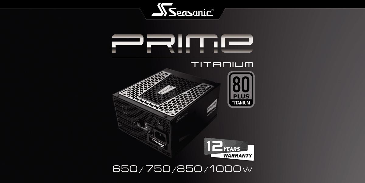 Seasonic SSR-1300PD PRIME 1300W 80 PLUS Platinum ATX12V Power Supply
