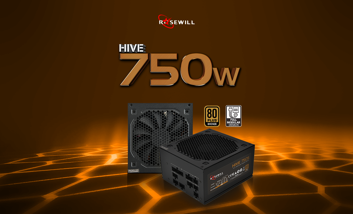 Rosewill Hive Series 750 750w Continuous 40c 80 Plus Bronze Dell Hardisk External 2tb 25amp039 Usb30 Slim Watt Power Supply