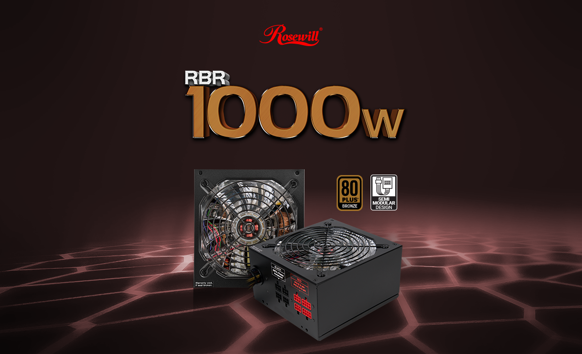 Rosewill Bronze Series Rbr1000 M 1000w Continuous40c 80plus Dell Power Supply Wiring Diagram The Rbr 1000 Watt