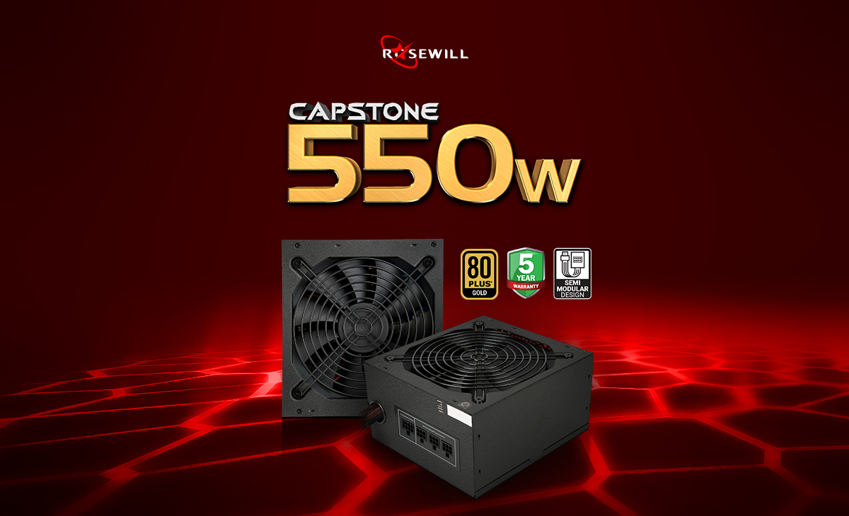 Capstone 550 Watt power supply