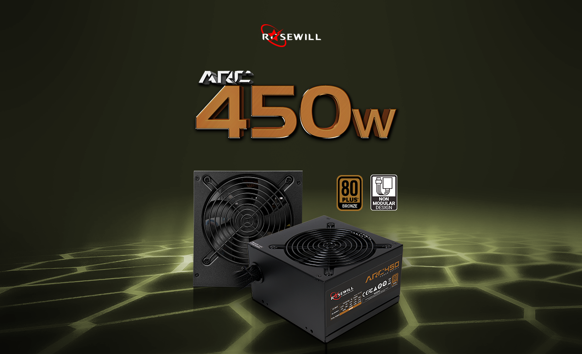 ARC 450 Watt power supply