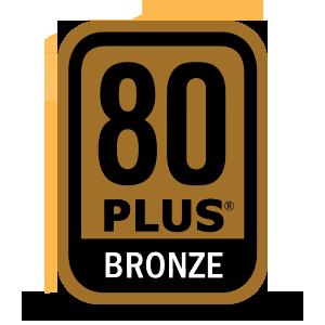 80 PLUS Bronze Badge