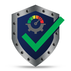 Speedometer Checkmark Icon