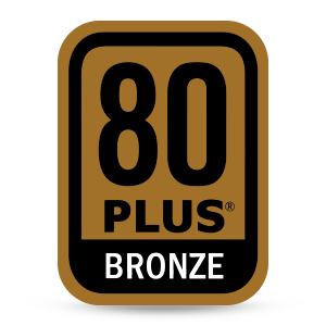 80 PLUS BRONZE Badge