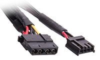 Molex and 4-Pin Power Connectors