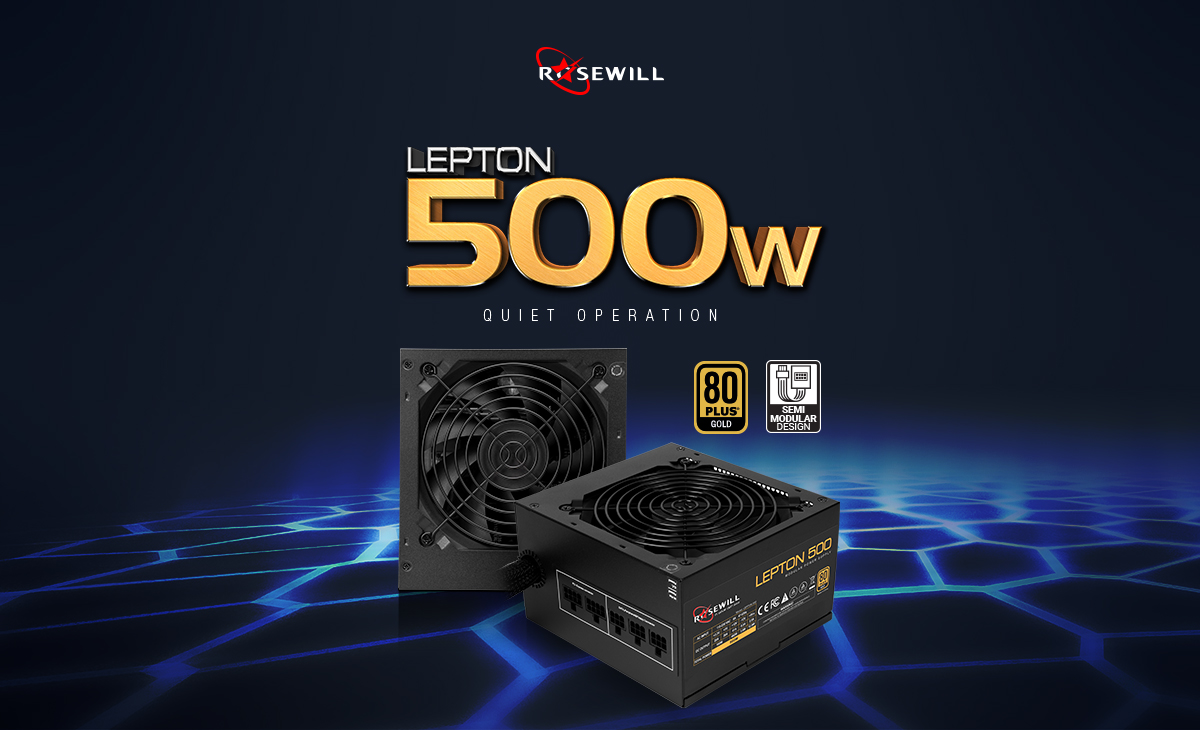 Lepton 500 Watt power supply