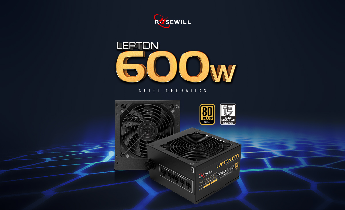 Lepton 600 Watt power supply
