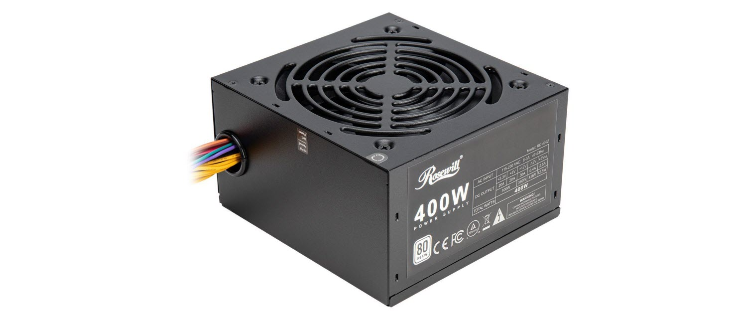 Rosewill RD 400Z Power Supply