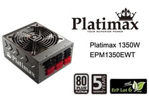 Enermax EPM1350EWT Platimax 1350W 89PLUS EPS 12V Modular PSU