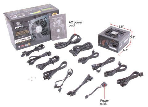 XFX Power Supply