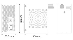 SILVERSTONE SFX ST30SF 300W Small Form Factor 80 PLUS BRONZE ...