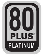 80 Plus Platinum Certified