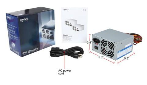 box antec basiq bp350 atx12v v2 01 power supply newegg com antec bp350 wiring diagrams at panicattacktreatment.co